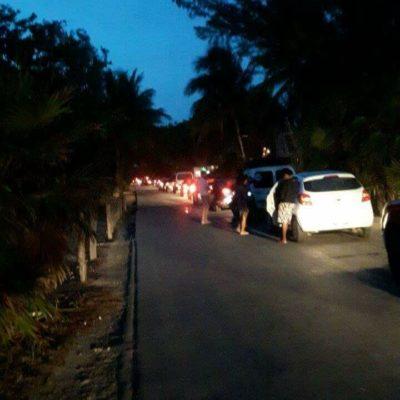 BALAZOS EN LA ZONA TURÍSTICA DE TULUM: Disputa por un predio desemboca en enfrentamiento sin heridos en Punta Piedra