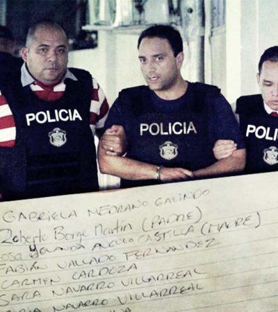 ENCIERRO EN PANAMÁ | AUTORIZA BORGE 'LISTA VIP' DE VISITANTES: Su círculo más íntimo, incluido entre los 29 nombres elegidos para entrar a la cárcel 'El Renacer'