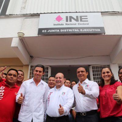 """AHORA SE PONEN SUS MOÑOS: Exigen priistas revisar alianza con el Verde en Cancún; """"no podemos ser cómplices ante un gobierno ineficiente"""", dice Vallín Lugo"""
