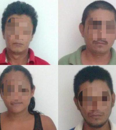 'Atoran' a cuatro corruptores de menores en Cozumel