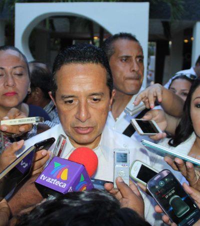 Tras meses violentos, mejora percepción mundial hacia Quintana Roo, señala Carlos Joaquín y asegura que ocupación hotelera se ha mantenido al 80%
