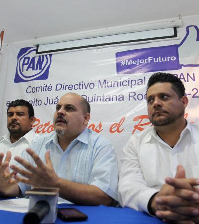 Considera PAN positivo el Frente Amplio Democrático que propone el PRD
