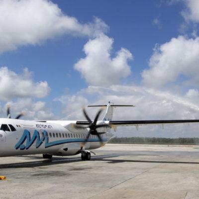 Inaugura Aeromar nuevo vuelo Cancún-Mérida para fortalecer la Ruta Maya
