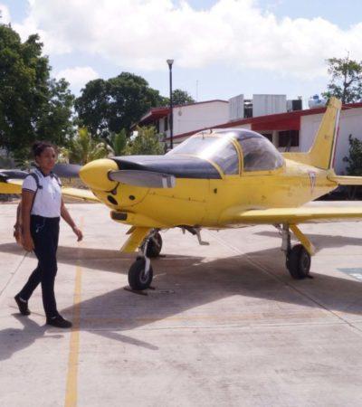 Conalep Quintana Roo recibe aeronave de la FAM   Por Raúl Caraveo Toledo