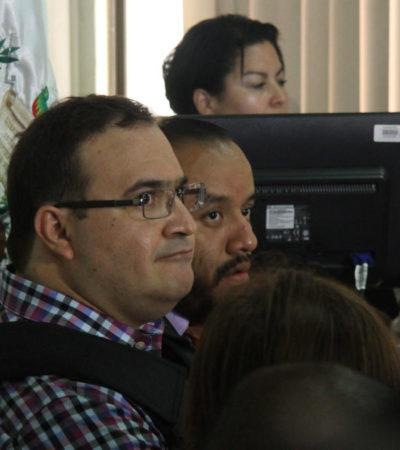 Formaliza México solicitud de extradición de Javier Duarte ante el gobierno de Guatemala
