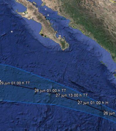 Nace el huracán 'Dora' frente a las costas de Jalisco y Colima en el Pacífico