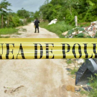 EJECUTAN AL PRIMERO DEL MES DE JULIO EN CANCÚN: Matan en la madrugada a una persona en la Región 245; suman 76 casos en 2017