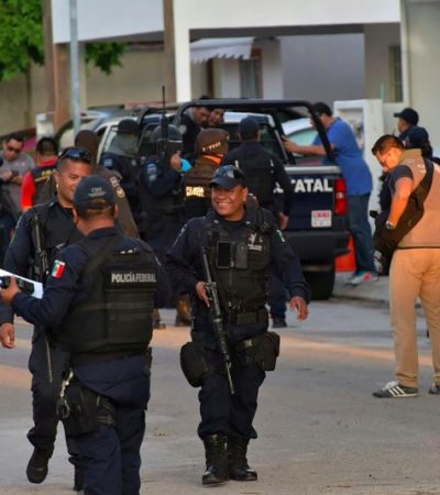 VIOLENCIA EN CANCÚN AHONDA DIFERENCIAS ENTRE GOBIERNOS: 'Aclara' Fiscal que policía municipal no participó en persecución de sicarios ni en captura de secuestradores