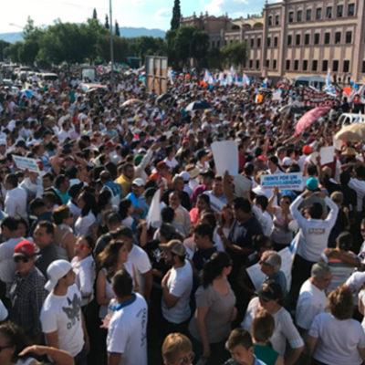 SALEN PRI Y PAN A LAS CALLES POR ELECCIÓN EN COAHUILA: Unos celebran un cuestionado triunfo y otros marchan por la 'defensa del voto'