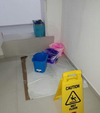 Exhiben lluvias nuevas deficiencias del Hospital General de Cancún