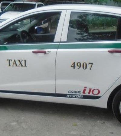 CAE PRESUNTO TAXISTA VIOLADOR: Asegura policía unidad usada para cometer ultrajes en Cancún; detienen e investigan al conductor