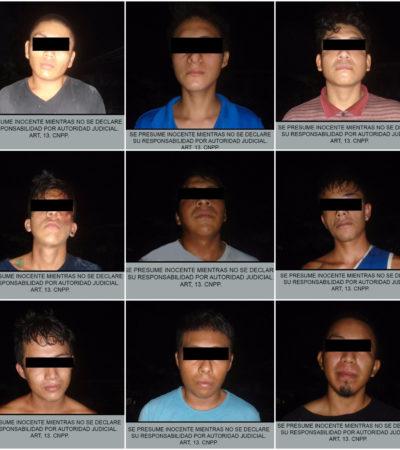 Detienen a banda de asaltantes en Cancún