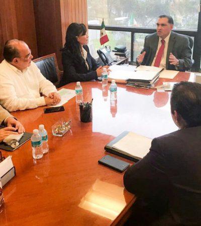 Dice Alcaldesa que pronto se resolverá el problema de los apagones en Puerto Morelos