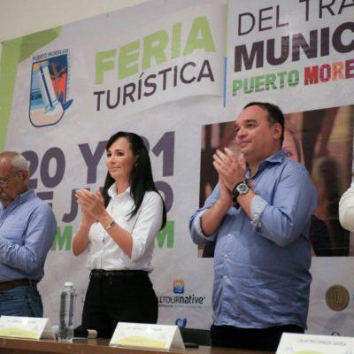 Organizan 'Feria Turística del Trabajo' en Puerto Morelos