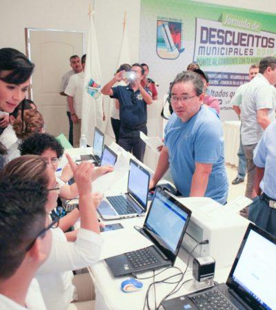 Ponen en marcha jornada de descuentos municipales en Puerto Morelos