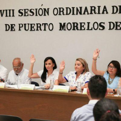 Avala Cabildo de Puerto Morelos al Instituto Municipal de la Mujer como el enlace institucional para la firma de convenios con el Inmujeres, el IQM y cualquier otra instancia análoga, pública o privada