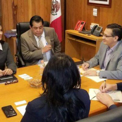 Gestiona Alcaldesa ante la SCT mayor cobertura de internet para Puerto Morelos