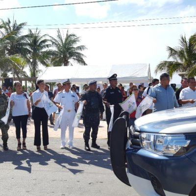 Arranca operativo vacacional de verano en Puerto Morelos