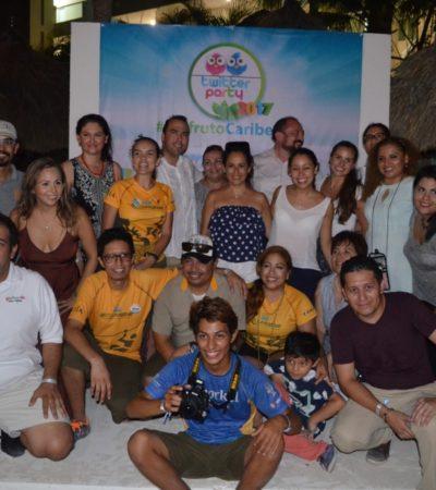 Activa participación de Puerto Morelos durante la 'Twitterparty' 2017