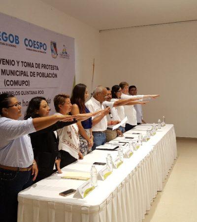 Instala Puerto Morelos el Consejo Municipal de Población