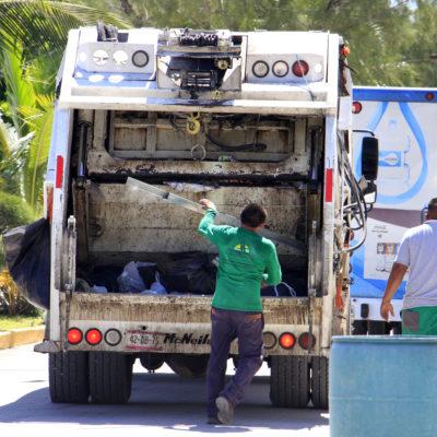 Recolectan 80 toneladas de basura al día en Puerto Morelos
