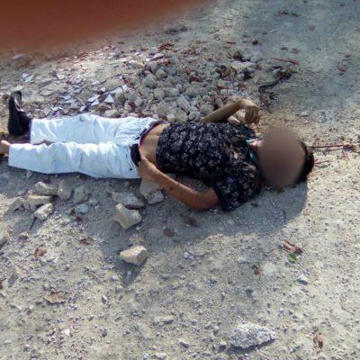 Reportan hombre asesinado en la SM 247
