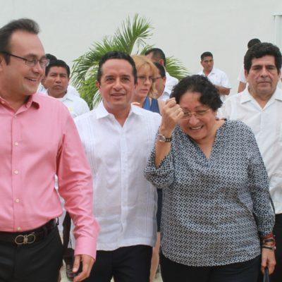 Carlos Joaquín, a favor de las alianzas políticas; dan victorias electorales y de gobierno, dice Gobernador