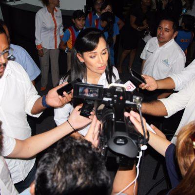 Instalarán cámaras de video-vigilancia en Puerto Morelos; aunque tiene los menores índices de inseguridad en el estado, es susceptible a ella, dice alcaldesa