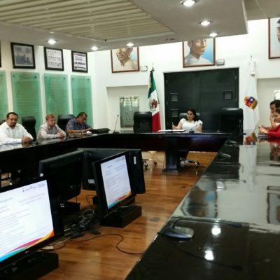 Con ausencia de representantes de colegios, cámaras empresariales y asociaciones civiles, se realiza la última sesión para socializar las leyes secundarias del Sistema Local Anticorrupción en QR