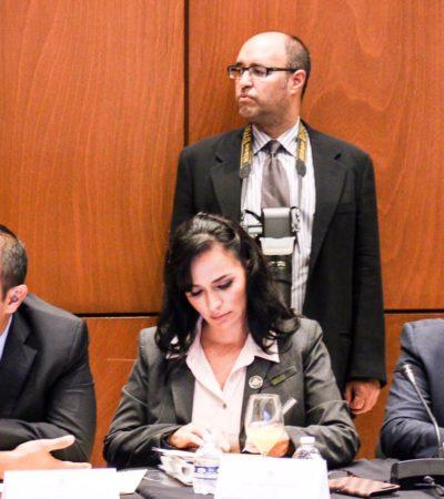 Pide Laura Fernández a Hacienda flexibilizar reglas de operación de recursos federales