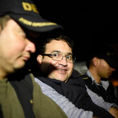 Vinculan a proceso a Javier Duarte por los delitos de delincuencia organizada y recursos de procedencia ilícitos