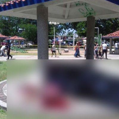 VIOLENCIA EN TABASCO: Ejecutan a 4 en un parque de la colonia Gaviotas Norte de Villahermosa