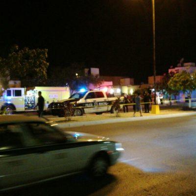 Se registra incendio en casa de la Región 248 en Cancún