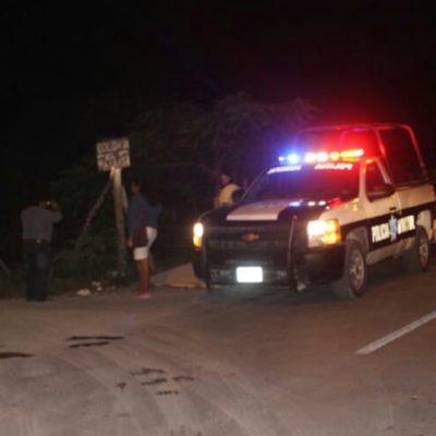TRAGEDIA FAMILIAR AL SUR DE QR: Bajo influjos del alcohol, un menor asesinó a su hermanito en la comunidad de Pedro Antonio de los Santos