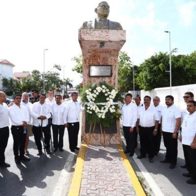 Se reúne Alcaldesa con masones para conmemorar aniversario luctuoso de Benito Juárez