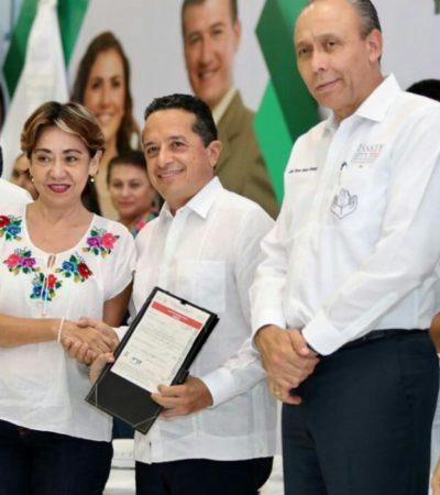 Entrega Gobernador 1,200 préstamos personales y créditos hipotecarios del Fovissste