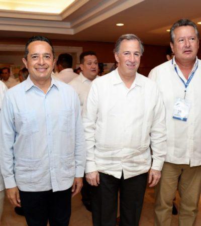 Dice Carlos Joaquín que QR tiene el liderazgo para atraer nuevas inversiones y disminuir la desigualdad