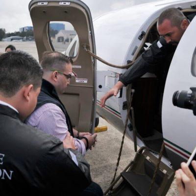 EXTRADICIÓN EN PROGRESO: El ex Gobernador Javier Duarte llega al aeropuerto de Guatemala para ser traído a México