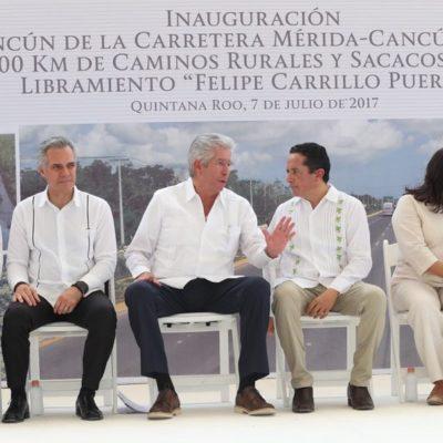 Puentes peatonales serían asolución rápida en Zona Hotelera, dice Gerardo Ruiz Esparza; puente Bojórquez, proyecto muy costoso