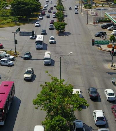 EL PROBLEMA DE 'MOVILIDAD' DE CANCÚN: El tráfico en el principal destino turístico de México cada día es más insufrible | VIDEO