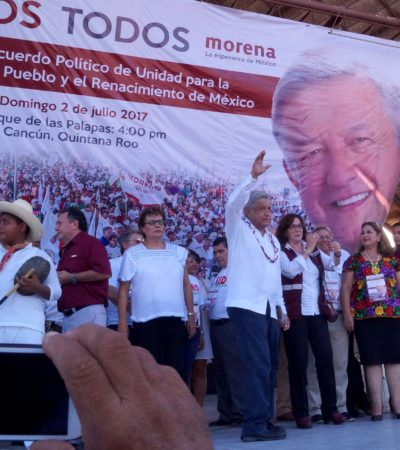 Rompeolas: Félix se mete hasta la cocina en Morena