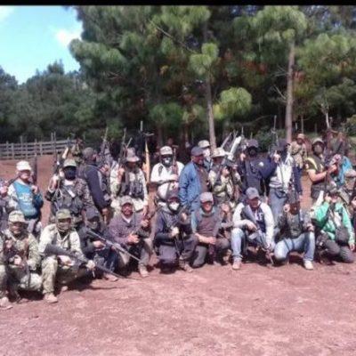 Nace grupo de autodefensa para enfrentar al narco en zona serrana del municipio de Zihuatanejo