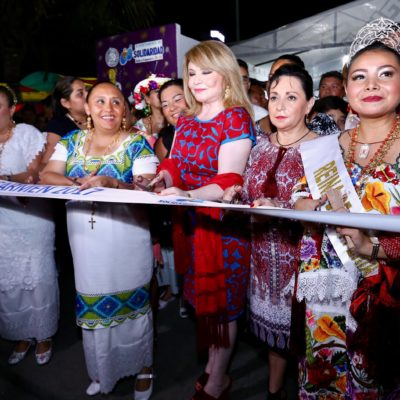 Inauguran la Feria del Carmen en Playa del Carmen
