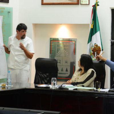 INSISTEN EN RECTIFICAR LÍMITES DE PUERTO MORELOS: Recibe Congreso a miembros de la asociación 'Latitud 21'
