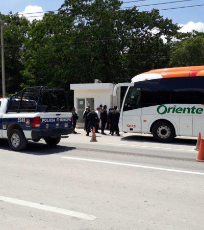 Detienen a dos asaltantes de autobús