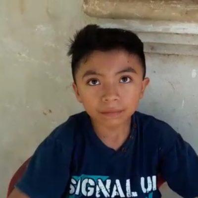JACINTO ROMPE FRONTERAS: Diputado infantil de Xcabil viajará durante julio a Estados Unidos y España