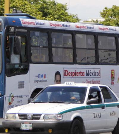 LA 'INVASIÓN' DEL TRANSPORTE EN CANCÚN: Unidades provenientes de Solidaridad e Isla Mujeres se suman al problema de movilidad del principal destino turístico de México | VIDEO