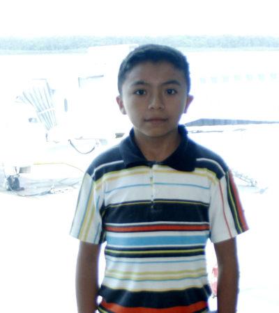 """EL VUELO DE JACINTO: Emocionado, viaja a Miami el diputado infantil de Xcabil rumbo a una nueva aventura; """"me gustaría hacer mucho por mi comunidad"""", dice"""
