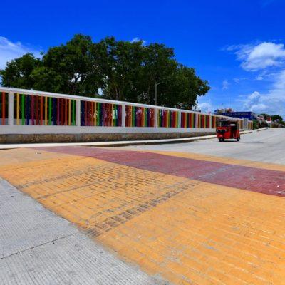 Invertirán más de 3 mdp en la construcción de 26 pasos peatonales en Solidaridad