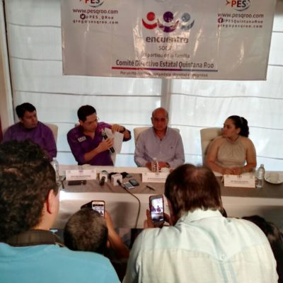¿ROMPE 'GREG' CON REMBERTO?: Dirigente del PES critica acciones contra la inseguridad en Cancún